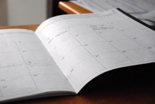 agenda pour rdv et parler projet